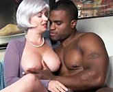 Hot MILF with Big Black Cock