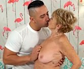 Lusty Grandmas – Very Mature Penetrated by Young Dick
