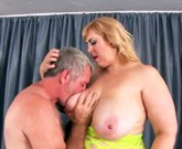 BBW Amazon Darjeeling sucks and fucks and then takes it up the ass and ride very fast