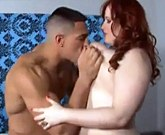 Big Beautiful Woman Eliza Alure gets cum on face