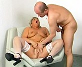 Chubby mature gets her fat pussy fingered and fucked